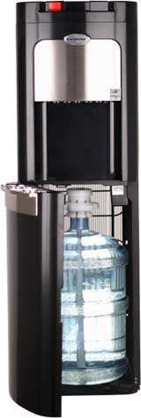 water cooler with bottom loader