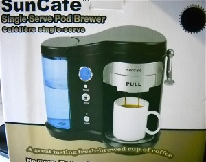 single serve one cup coffee maker