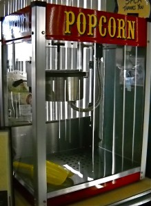 we rent popcorn machines