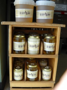 jars of Bee Happy Honey
